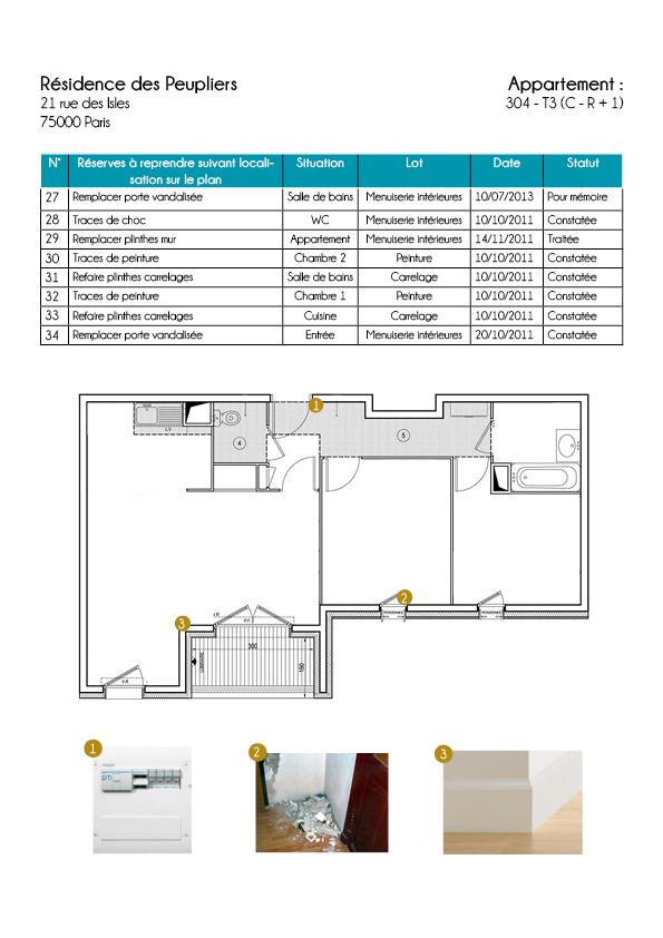 atech immo assistance la livraison reception de biens. Black Bedroom Furniture Sets. Home Design Ideas